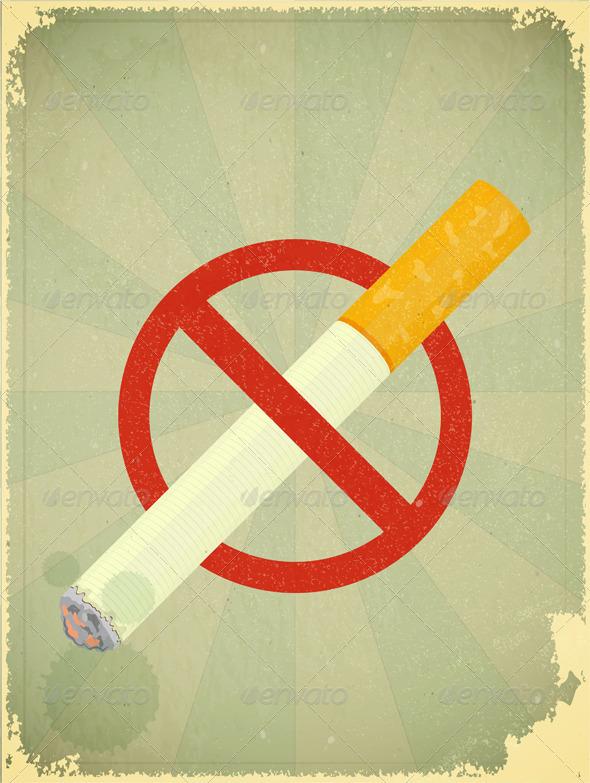 GraphicRiver No Smoking 3639193