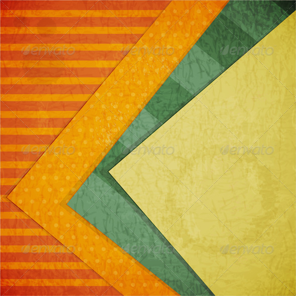 GraphicRiver Color Paper Retro Background 3639319
