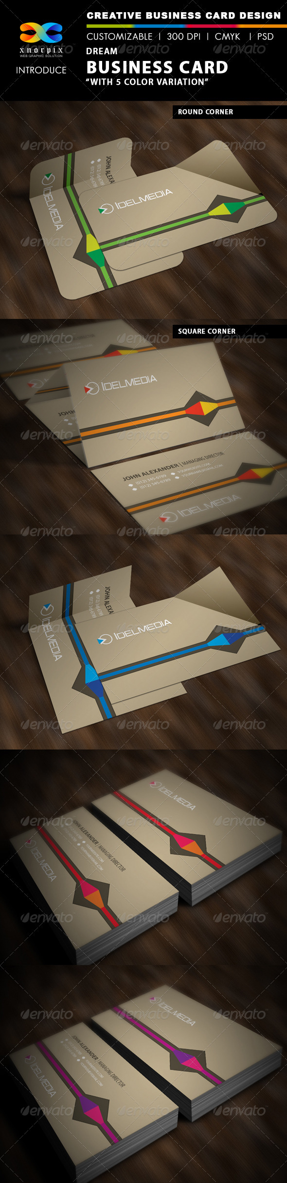 GraphicRiver Dream Business Card 3595402