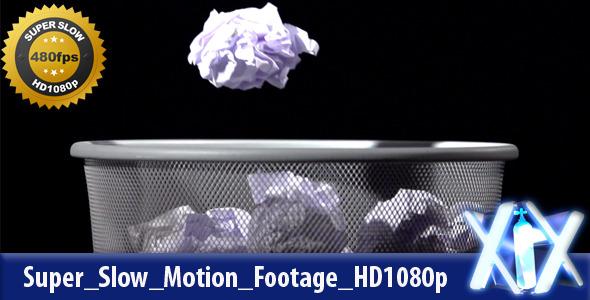 VideoHive Trash Bin 480fps 3639726