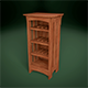 Realistic Wooden Wine Rack Display Case - 3DOcean Item for Sale