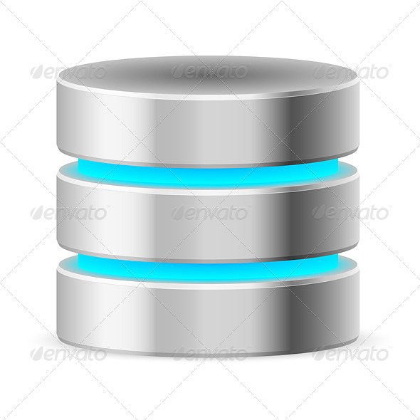 GraphicRiver Data Base Icon 3639983
