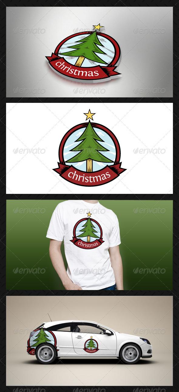 GraphicRiver Christmas Logo Template 3586826