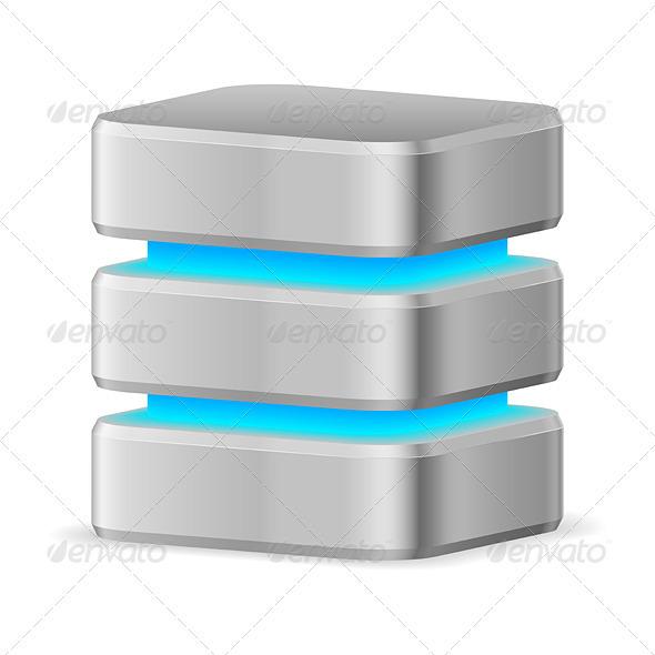 GraphicRiver Data Base Icon 3640506