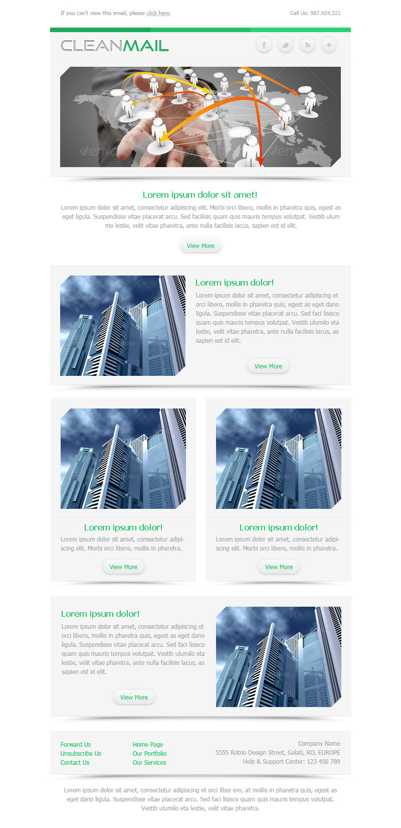 CleanMail - Newsletter & Marketing Email Template