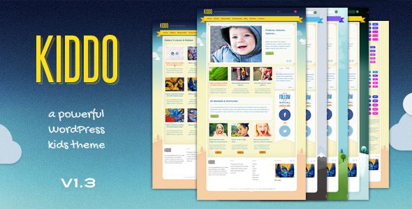 ThemeForest Kiddo A Powerful Kids Theme 802808