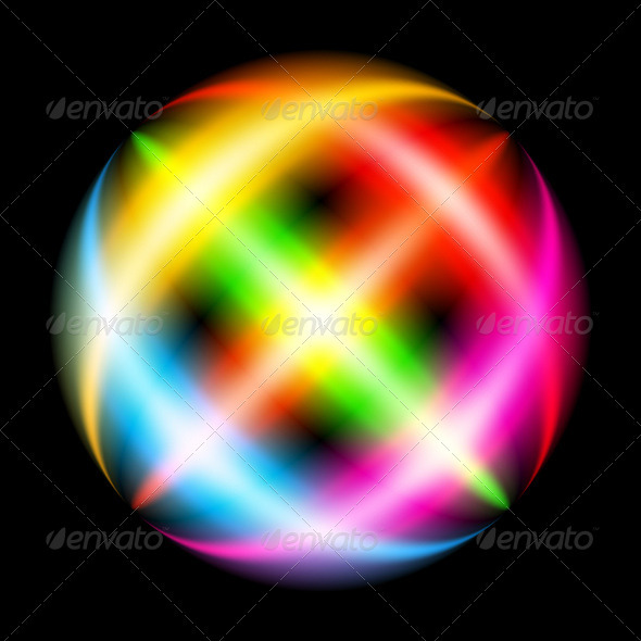 GraphicRiver Abstract Rainbow Ray 3640984