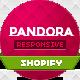 Pandora — Responsive Shopify HTML5 Theme  Free Download