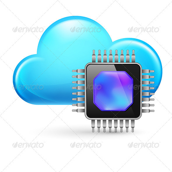 GraphicRiver Chip and Cloud 3642374