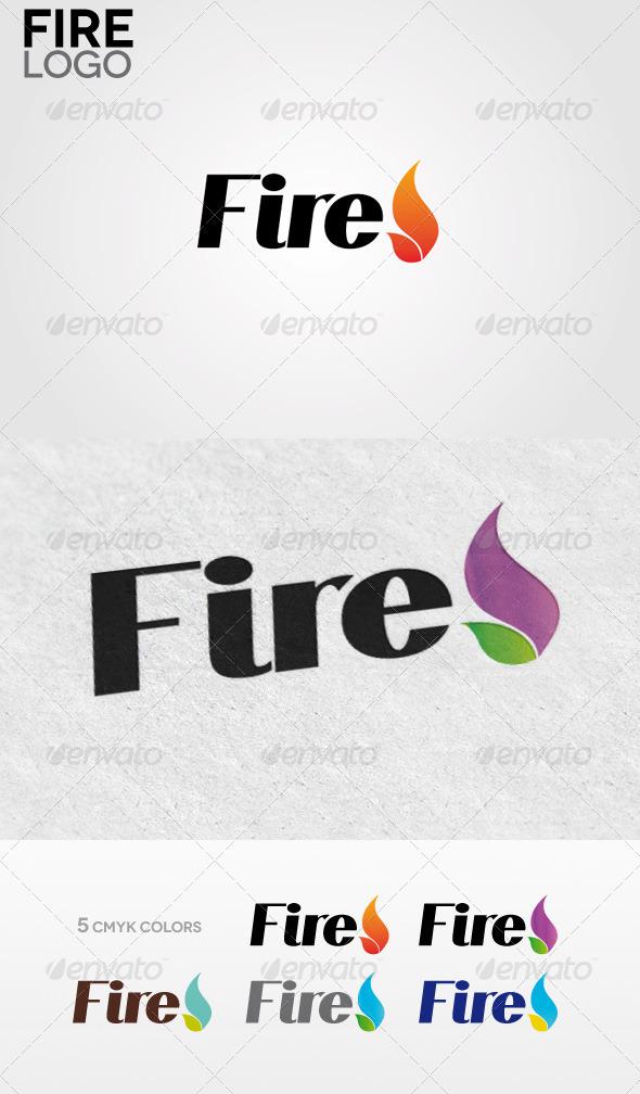 GraphicRiver Fire Logo 3642578