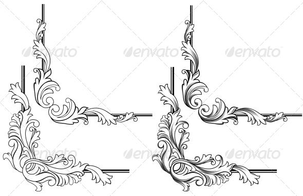 GraphicRiver Swirl Elements 3642676