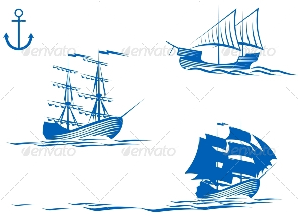 GraphicRiver Sail Ships 3642729