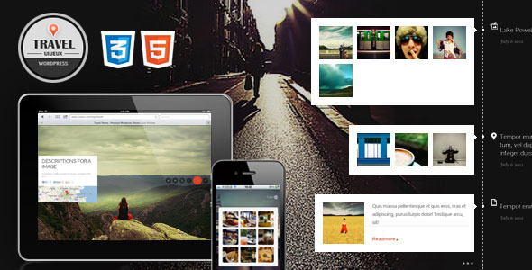 ThemeForest Travel Fullscreen Responsive WordPress Theme 2778417