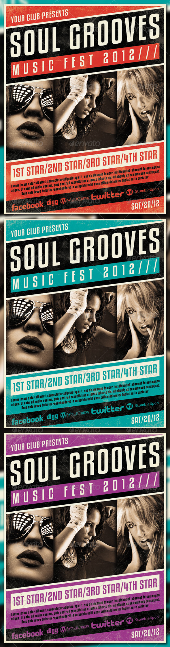GraphicRiver SOUL GROOVES 3643424