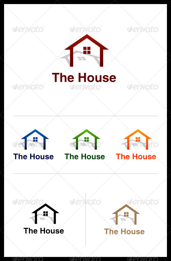 GraphicRiver Housing Logo 3643580