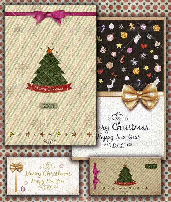 GraphicRiver Christmas Cards 3644037