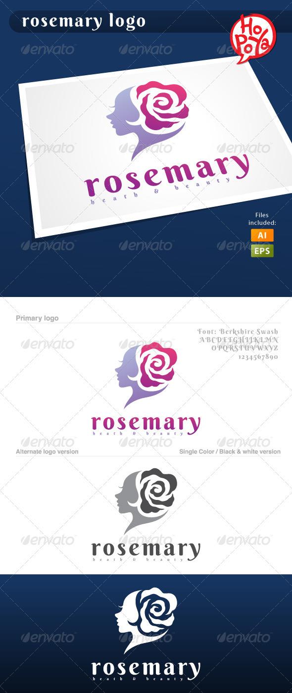 GraphicRiver Rosemary Logo 3644293