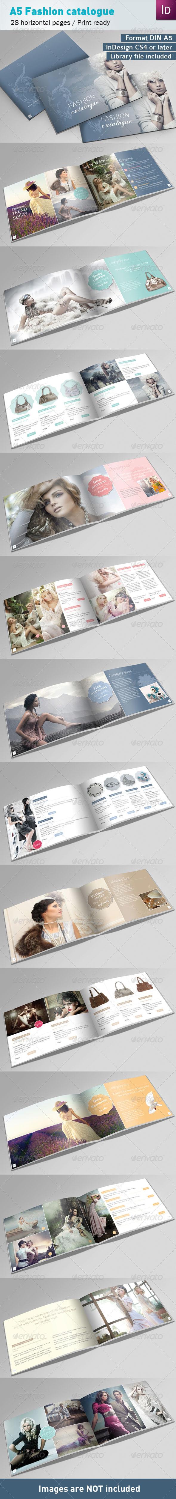 GraphicRiver Fashion Catalogue A5 3644491