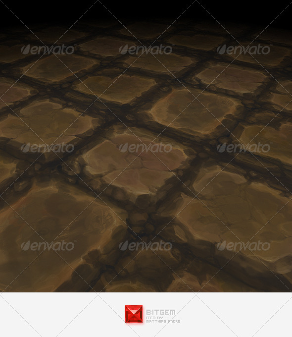 3DOcean Stone Floor Tile 12 3644662