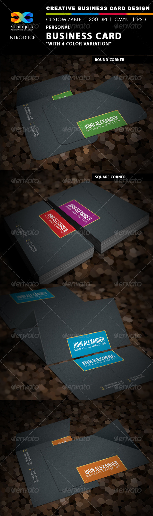 GraphicRiver Personal Business Card 3644938