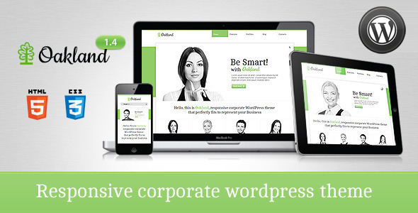 ThemeForest Oakland Premium Responsive WordPress Theme 2170919
