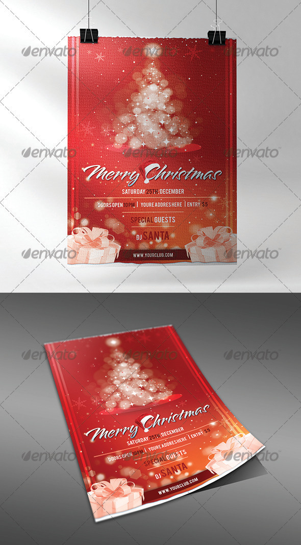GraphicRiver Christmas Flyer 3645669