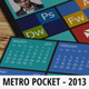 Pocket Calendar 2013 - Metro Style - GraphicRiver Item for Sale