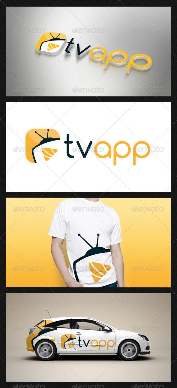GraphicRiver Media Tv Player Logo Template 3614393