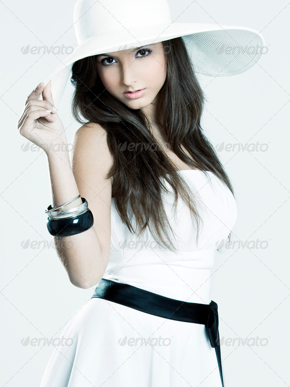Fashion girl - Stock Photo - Images
