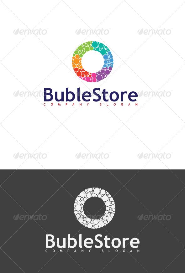GraphicRiver BubleStore Logo 3648119