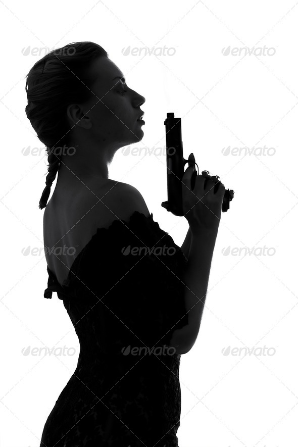 Stock Photo - PhotoDune smoking gun 392193