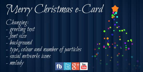 CodeCanyon Merry Christmas e-Card 3646364