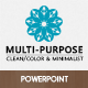 The Multi-Purpose Powerpoint Presentation Template - GraphicRiver Item for Sale