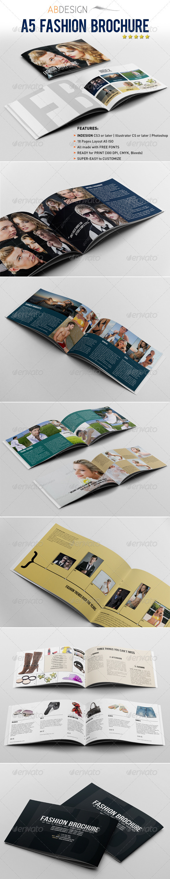A5 Brochure / Catalogue - Catalogs Brochures