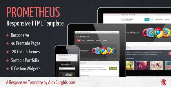 Prometheus - A Responsive Business Template