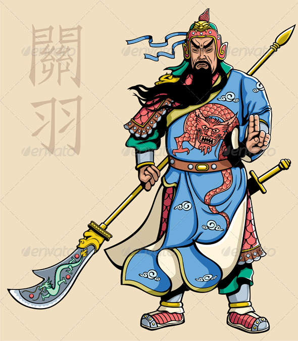GraphicRiver Chinese Warrior 2 3650181