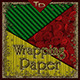Wrapping Paper in Christmas Colors - GraphicRiver Item for Sale