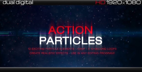 VideoHive Action Particles Complete Particle Pack 3651419