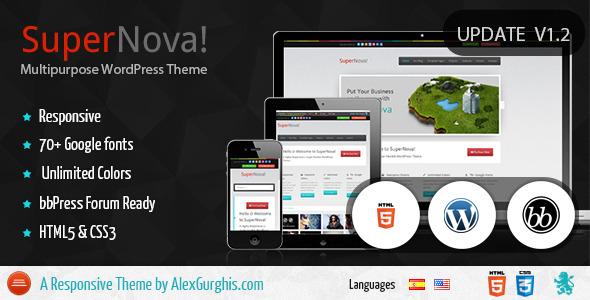 SuperNova - Premium Responsive Theme