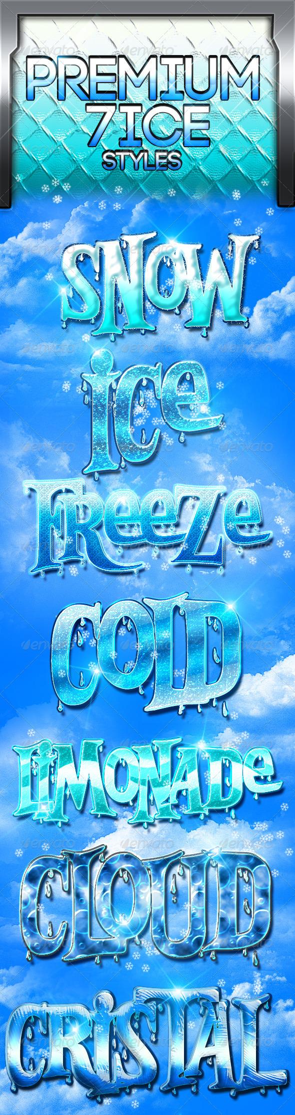 GraphicRiver Premium 5 Ice Styles 3651740