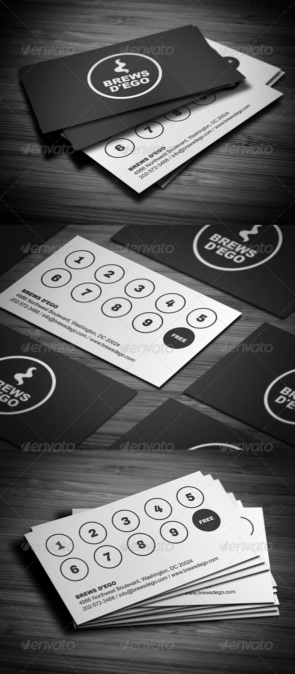 GraphicRiver Creative Loyalty Business Card 3651935