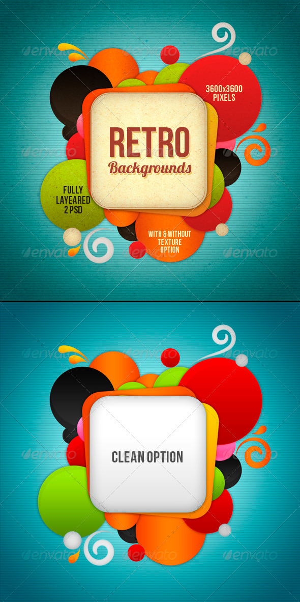 GraphicRiver Retro Background 3652168