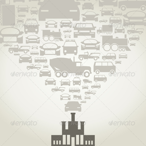 GraphicRiver Automobile Factory 3652590