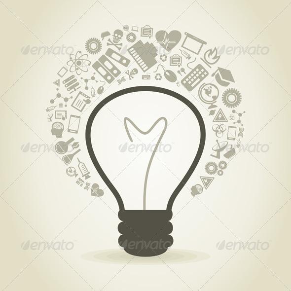 GraphicRiver Science Bulb 3652669