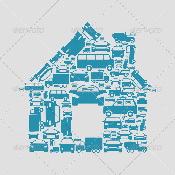 GraphicRiver House of Cars 3652677
