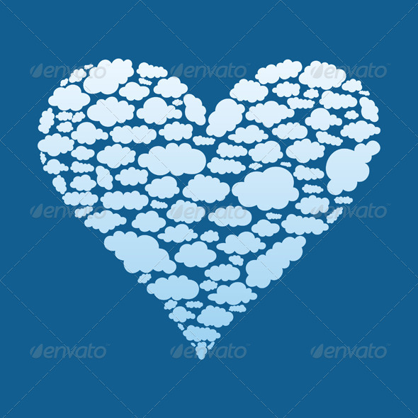 GraphicRiver Heart of Clouds 3652680