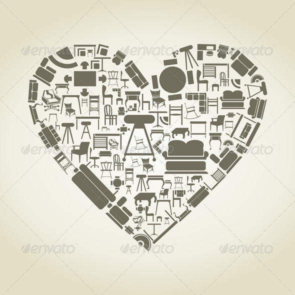 GraphicRiver Heart of Furniture 3652689