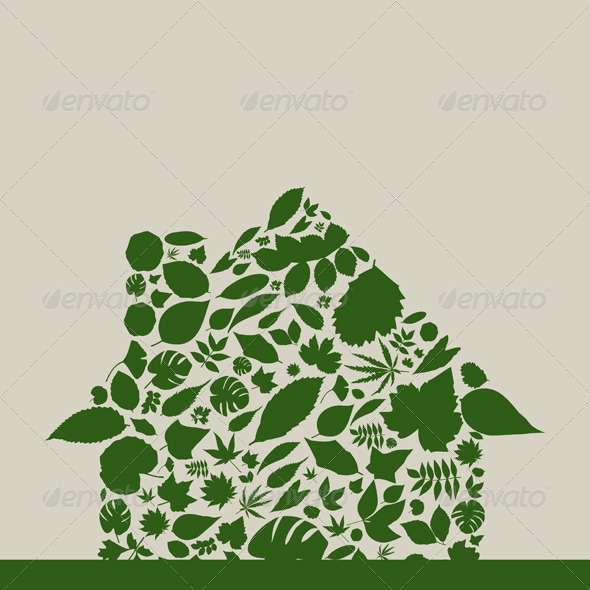 GraphicRiver Leaf the house 3652708