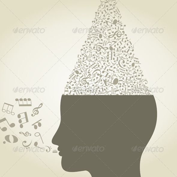 GraphicRiver Musical Head 3652711