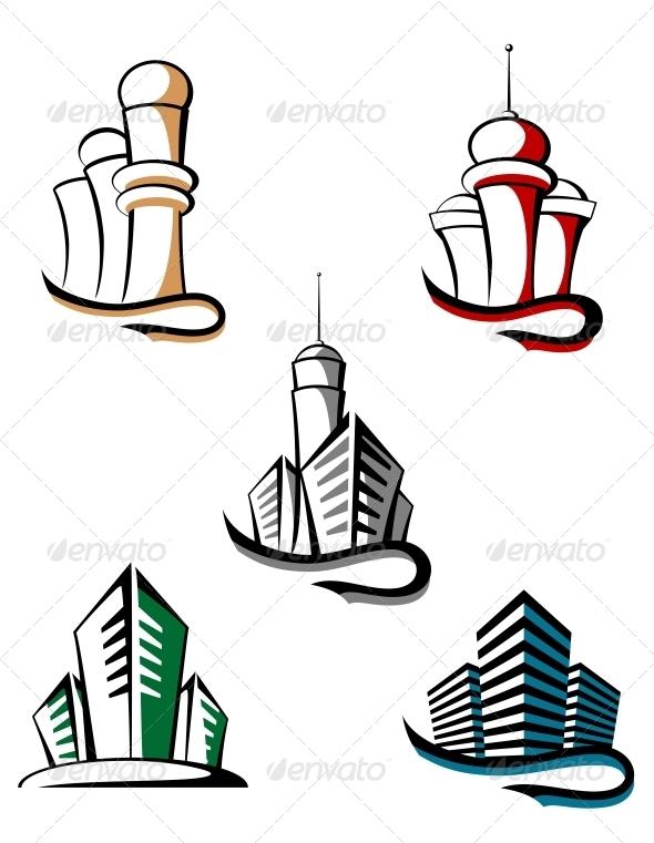 GraphicRiver Real Estate Symbols 3653221